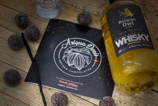 Truffe Whisky Belgian Owl Intense Sd